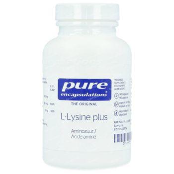 Pure Encapsulations L-Lysine Plus 90 capsules