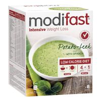 Modifast Soup Spinach and Leek 8  beutel