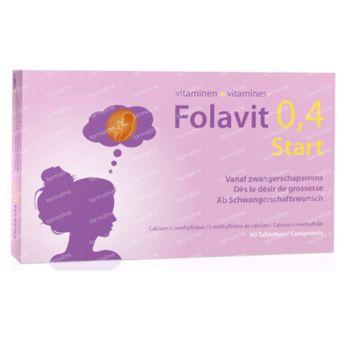 Folavit 0,4 Start 90 comprimés