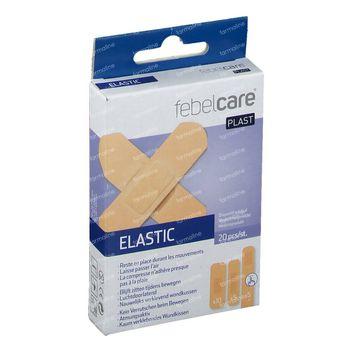 Febelcare Elastische Pleister Mix 20 pièces