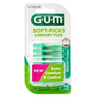 GUM Soft Picks Comfort Flex Small 40 stuks