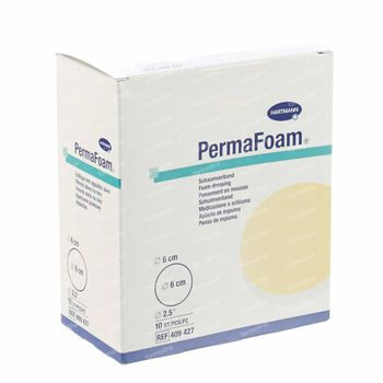 Hartmann Permafoam Classic Schuimverband 6cm Rond 10 stuks
