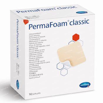 Hartmann Permafoam Classic Pansement en Mousse 20x20cm 10 pièces