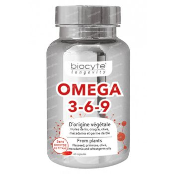 Biocyte Omega 3-6-9 60 capsules