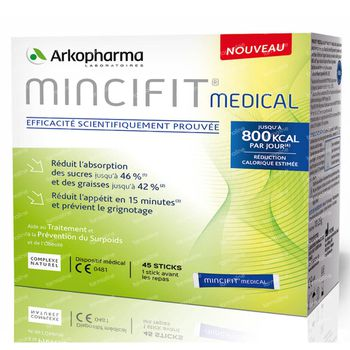 Arkopharma Mincifit Medical 45 stick(s)