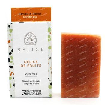 Bélice Délice de Fruits Koude Zeep Agrumes Bio 100 g
