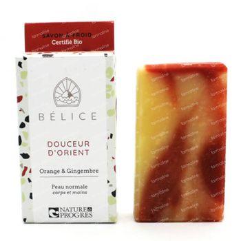 Bélice Douceur d'Orient Koude Zeep Orange & Gingembre Bio 100 g