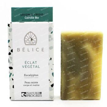 Bélice Éclat Végétal Koude Zeep Eucalyptus Bio 100 g
