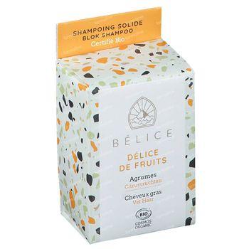 Bélice Délice de Fruits Shampoo Agrumes Bio 85 g