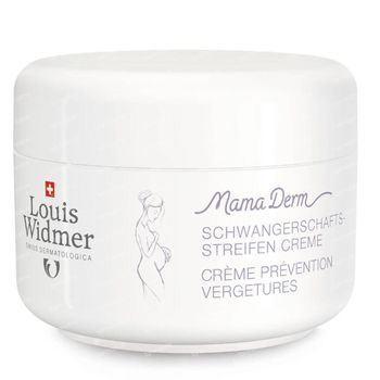 Louis Widmer MamaDerm Crème Prévention Vergetures Sans Parfum 250 ml