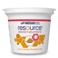 Nestlé Resource Dessert Gourmand Karamel 4x125 g