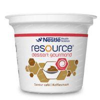 Nestlé Resource Dessert Gourmand Koffie 4x125 g