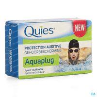 Quies Gehoorbescherming voor Zwemmen Aquaplug 1 paar