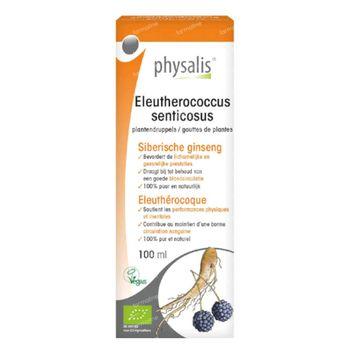Physalis Eleutherococcus Senticosus Gouttes de Plantes Bio 100 ml