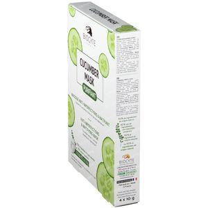 Biocyte Cucumber Mask Pack 4 pièces