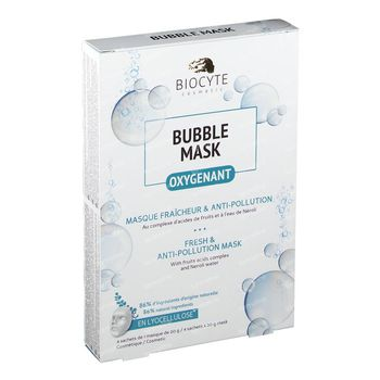 Biocyte Bubble Mask Pack 4 pièces