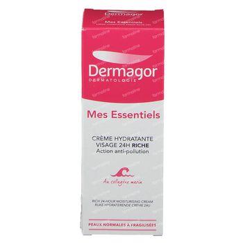 Dermagor Mes Essentiels Crème Hydratante Riche 24h 40 ml
