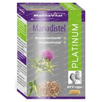Mannavital Mariadistel Platinum 60  tablet