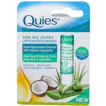 Quies Stick Lèvres Hydratant Aloë Vera - Huile de Noix de Coco 4,5 g