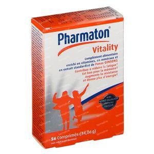 Pharmaton Vitality Prix Réduit 56 comprimés