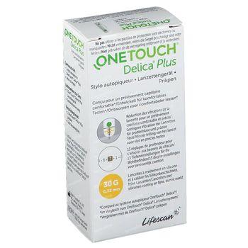 One Touch Delica Plus Stylo Autopiqueur 1 pièce