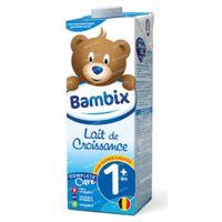 Bambix Lait Croissance Nature 1 Ans+ 1 l