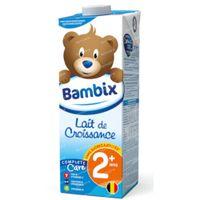 Bambix Lait Croissance Nature 2 Ans+ 1 l