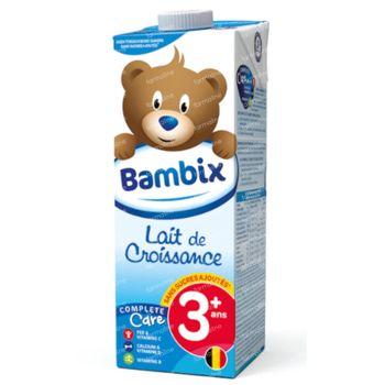 Bambix Lait Croissance Nature 3 Ans+ 1 l