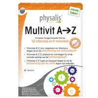 Physalis Multivit A-Z 45  tabletten