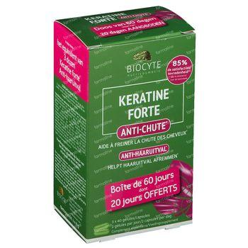 Biocyte Keratine Forte Anti-Chute 120 capsules