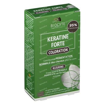 Biocyte Keratine Forte Coloration 60 capsules