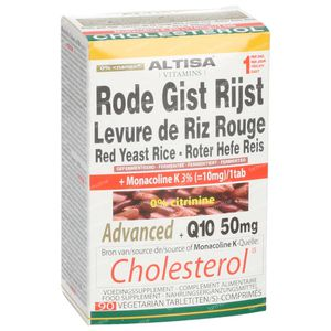 Altisa Levure Rouge Riz Avancée + Q10 50mg 90 comprimés