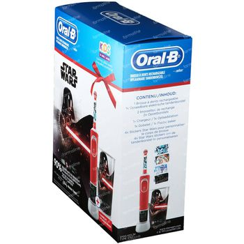 Oral B Brosse à Dents Électrique Star Wars + Gobelet GRATUIT 1 set