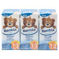 Bambix Lait Croissance Nature 1-3 Ans 3x200 ml