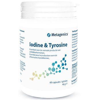 Iodine & Tyrosine Neue Formel 60 kapseln
