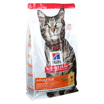 Hill's Science Plan Feline Adult avec Poulet 1,5 kg