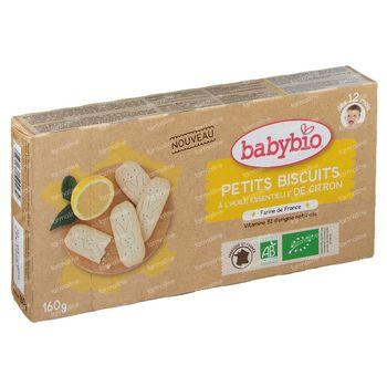 Babybio Babykoekjes Citroen 160 g