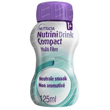 NutriniDrink Compact Multi Fibre Neutre 4x125 ml