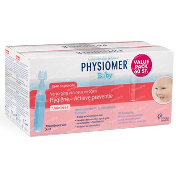 Physiomer Baby Unidoses DUO 60x5 ml unidosis