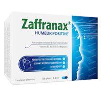 Zaffranax Humeur Positive - Émotif, Stress, Fatigue 120  capsules