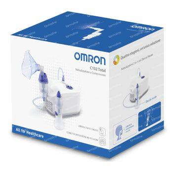 Omron C102 Total 2in1 Vernevelaar met Neusdouche 1 pièce