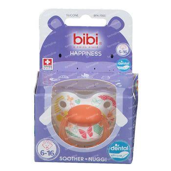 Bibi Sucette Happiness Favourites Dental 6 - 16 mois 1 pièce