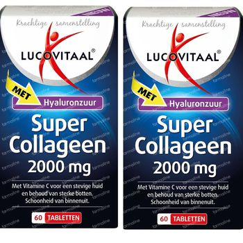 Lucovitaal Super Collagène 2000mg DUO 2x60 capsules