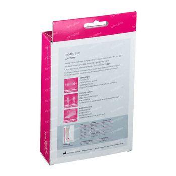 Medi Travel Reiskousen voor Dames Karamel Maat 3 1 paire bougie