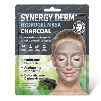Synergy Derm Masque Hydrogel Charbon 25 g