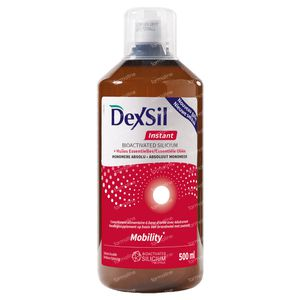 DexSil Instant Mobility Silicium + Essentiële Oliën 500 ml