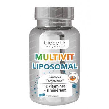 Biocyte Multivitaminen Liposomal 60 capsules