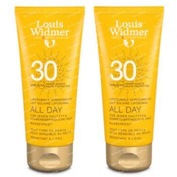 Louis Widmer All Day SPF30 Sans Parfum DUO 2x100 ml