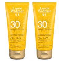 Louis Widmer All Day SPF30 Zonder Parfum DUO 2x100 ml