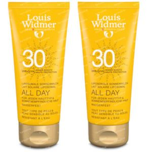 Louis Widmer All Day SPF30 Licht Geparfumeerd DUO 2x100 ml